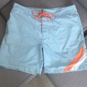 Gap swim trunks,  size large
